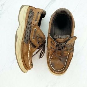 Sperry Lanyard a/c Brown Leather Loafer Sneakers